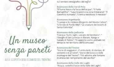 """CONCORSO LETTERARIO """"Un Museo senza pareti: alla scoperta degli Ecomusei del Trentino"""""""